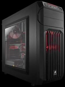 New, Corsair SPEC-01 Black on Black Mid Tower Gaming Computer Case *PickupOnly