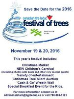 Canadian Tire Festival of Trees Christmas Market, Leduc, Alberta