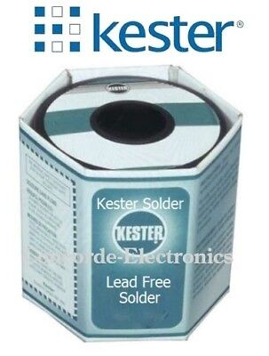 Kester Lead Free Solid Wire Solder 14-7070-0125 Sn95 Ag05 .125 Clearanc