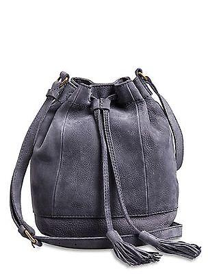 Harper Bucket - Lucky Brand Harper Nubuck Leather Bucket Bag in Tan, Navy or Pink-NWT-RP: $158