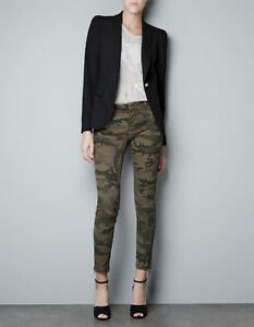 Beautiful Zara Camouflage Trousers In Multicolour For Men  Lyst