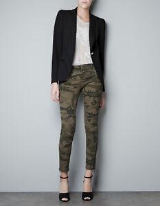 Model 53 Off Zara Pants  Zara Camo ZipPantsHost Pick From Classic