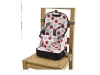 Polar Gear 5 point harness travel baby booster seat