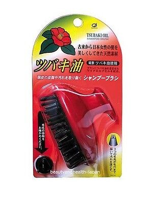 JAPAN IKEMOTO TSUBAKI OIL SHAMPOO HAIR/SCALP MASSAGE BRUSH BEAUTY&HEALTH CARE