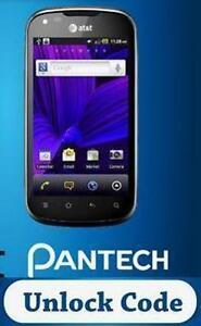How to enter Unlock Code on Pantech Burst P9070