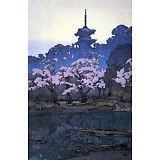 Sankeien Garden 15x22 Japanese Print by Yoshida Asian Art Japan Ltd. Edition