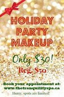 Holiday Party Makeup only $30!!!!!!