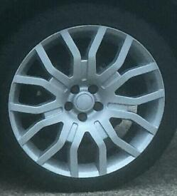 "22"" Range Rover Alloy wheels X5"