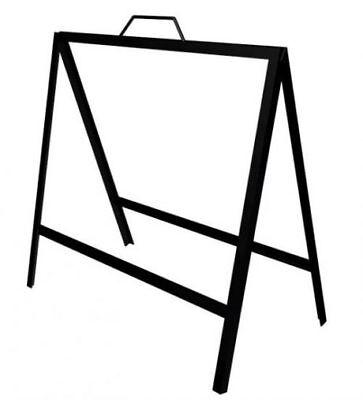 2 Pack 18 X 24 Metal-a-frame-sidewalk-sign-holder-real Estate Frame