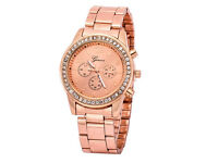 New watch for woman (rose gold)