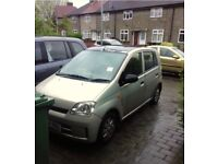 Daihatsu Chirade, 1 Litre, 5 Door, Petrol, with builtin parking sensors