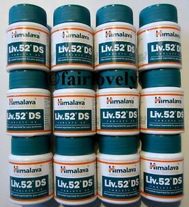 12-Jars-x-60-Tablets-Himalaya-Liv-52-DS-Liver-Care-USE-BY-SEPTEMBER-2016