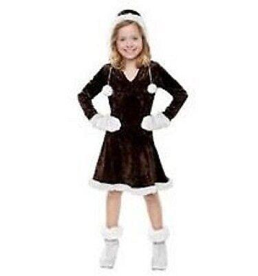 Girls Size Small 4-6  * ESKIMO CUTIE *  Costume NWT / NIP Eskimo Pie Kisses](Kiss Costumes For Girls)