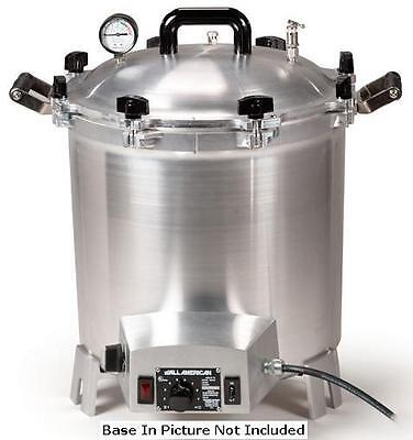 RETURNED ALL AMERICAN 75X-220v Electric Autoclave Sterilizer-OVERSEAS VOLTAGE