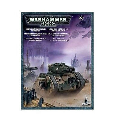 ASTRA MILITARUM LEMAN RUSS Tank Imperial Guard-Games Workshop Warhammer 40K+FAST