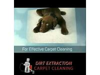 Dirt Extraction Carpet Cleaning