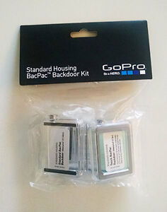 New GoPro HERO3+ Standard Housing BacPac Backdoor Kit