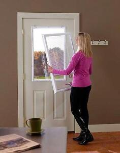 add on blind with glass