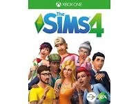 The sims 4 Xbox one