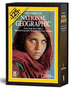 NATIONAL GEOGRAPHIC MAGAZINE 125 YEARS ON DVD, NEW