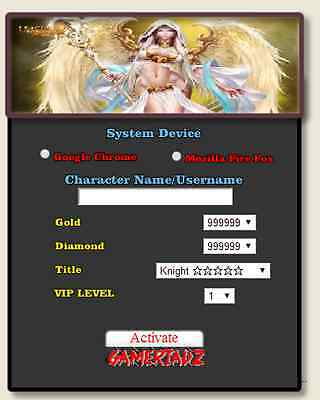 2014 Online League Of angels Hack UNLIMITED GOLD DIAMONDS VIP