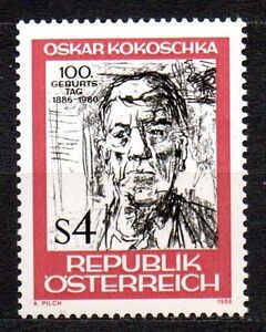 """Austria - 1986 Oskar Kokoschka Mi. 1841 MNH - Enschede, Nederland - Austria - 1986 Oskar Kokoschka Mi. 1841 MNH Click the button below to view more Austria lots from our extensive offerings. After clicking select """"Austria"""" in the blue side-bar on the left. Our lots start at just €0,25 Combine up to - Enschede, Nederland"""