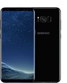 Samsung S8 Black 64GB 9 months warranty left
