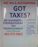 Taxation services.