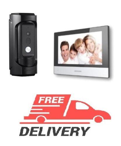 Hikvision kit, DS-KB8113-IME1 IP vandal-resistant, DS-KH6320-WTE1 Touch Screen