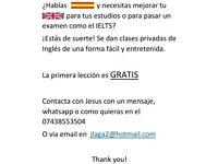 Español con Ingles Proficiency ofrece clases de ayuda para el IELTS y otros examenes