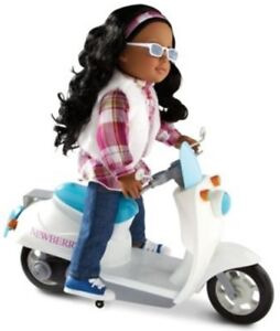 "NEW: Newberry Motor Bike/Scooter For 18"" Dolls(Two colors avail)"