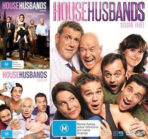 House Husbands SEASONS 1 2 3 = NEW R4 DVD
