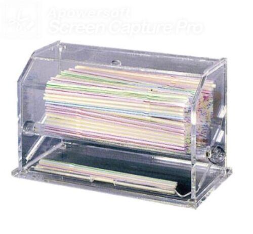 NEW Update SD-AC Acrylic High Quality Straw Dispenser
