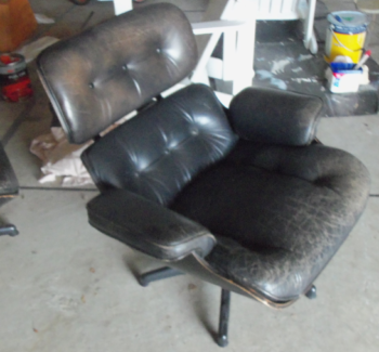 chairs: eames lounge chairs x 2