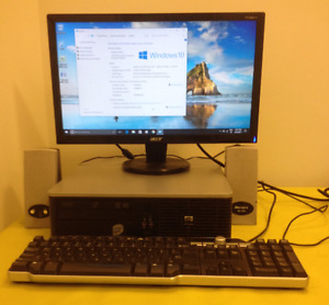 HP Complete  Windows10 fully updated. widescreen  WIFI