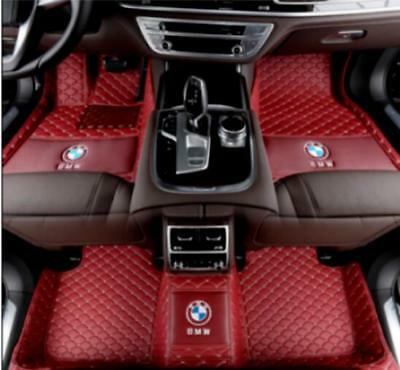 For BMW X5 2005 2019 waterproof floor mats knitting LOGO