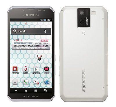 DOCOMO SHARP SH-10D AQUOS PHONE SV ANDROID 4.1 SMARTPHONE UNLOCKED NEW WHITE