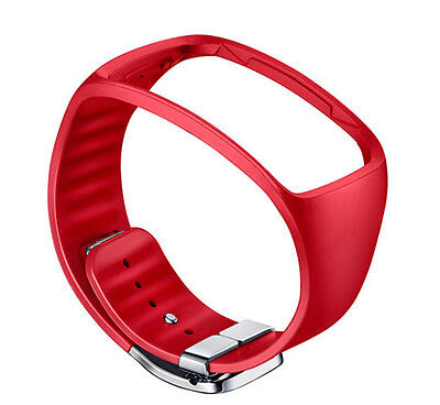 Samsung SM-R750 Galaxy Gear S Basic Color Strap ET-SR750 RED Genuine New