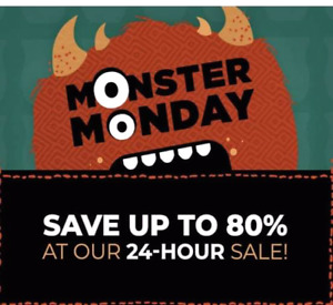 Up to 80% off Scentsy!
