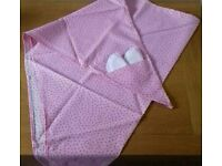 New Breastfeeding / Nursing Dignity Cover like Mamascarf Shabby Chic Polka Dot