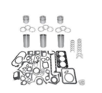 3 Cyl Long 350 360 445 460 Tractor Engine Rebuild Kit 95mm