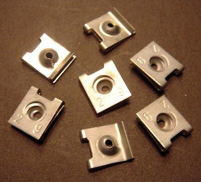 100 x Blechmutter Blechmuttern Schnappmutter  2,9 mm (0,138€/Stk.)