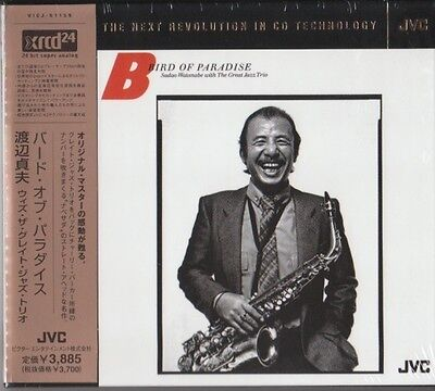 Sadao Watanabe with The Great Jazz Trio ‎– Bird Of Paradise JVC JAPAN XRCD 24