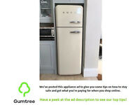 cream smeg fab30 fridge freezer read the description before replying to the ad