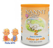 NANNY care Follow on Milk Formula Goat  900g 12/2019 FREE EXPEDITED SHIPPING