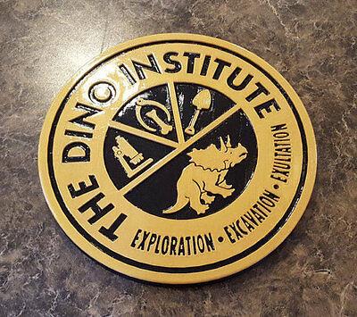 DINOSAUR Dinoland U.S.A. Dino Institute Inspired Logo Animal Kingdom Sign