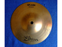 "ZILDJIAN 8'' SPLASH ""Brilliant"""
