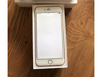 IPHONE 6 Plus 128G white gold EE