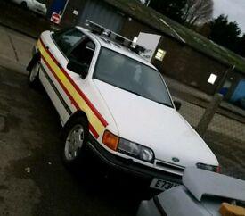 Ford granada police car ( show car not sierra escort cosworth)