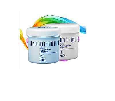 amos Aqua Volume Magic Straight Cream SOFT for damagde hair 400g+400g